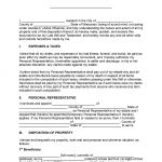 Wisconsin Last Will and Testament Form